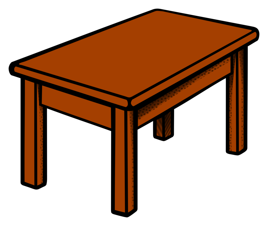Table clipart living room table. Picnic desk coffee tables
