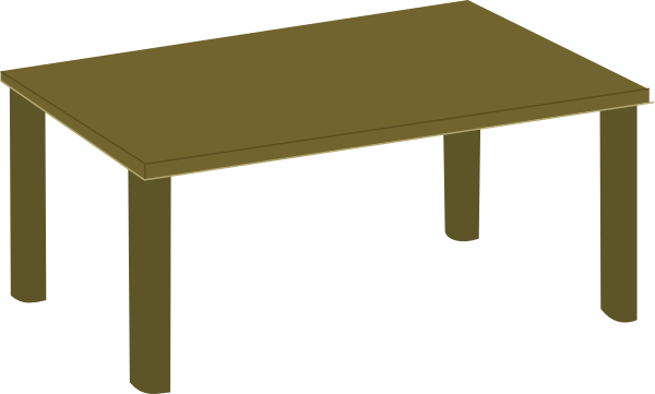 Table clipart png. Wood clip art at
