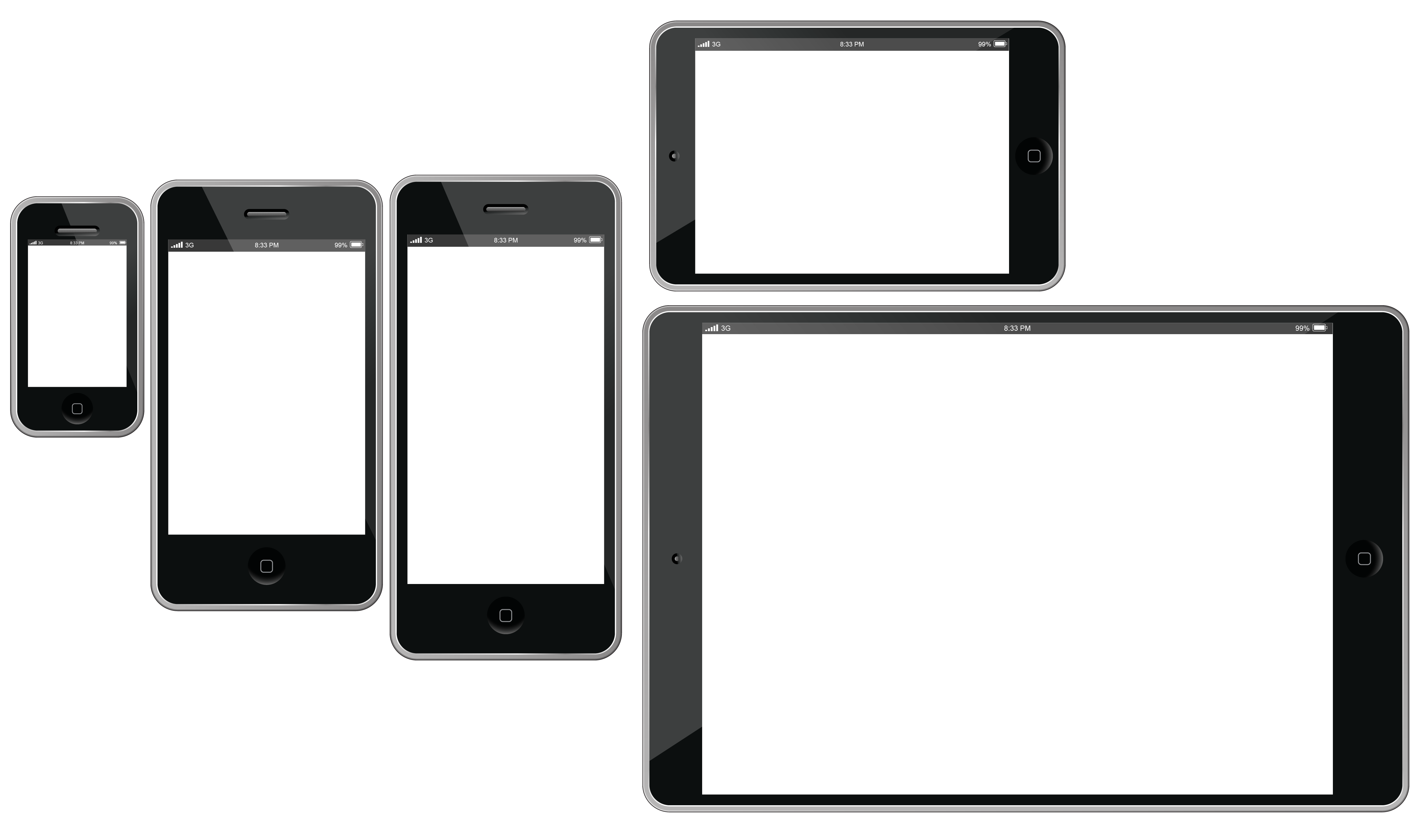 Cellphone transparent display. Android tablet png image