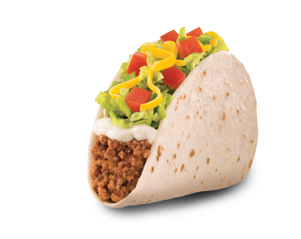 Taco bell soft taco png. Ck food cooking search