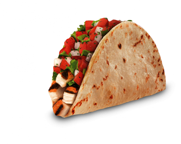 Taco bell soft taco png. Image fresco chicken food