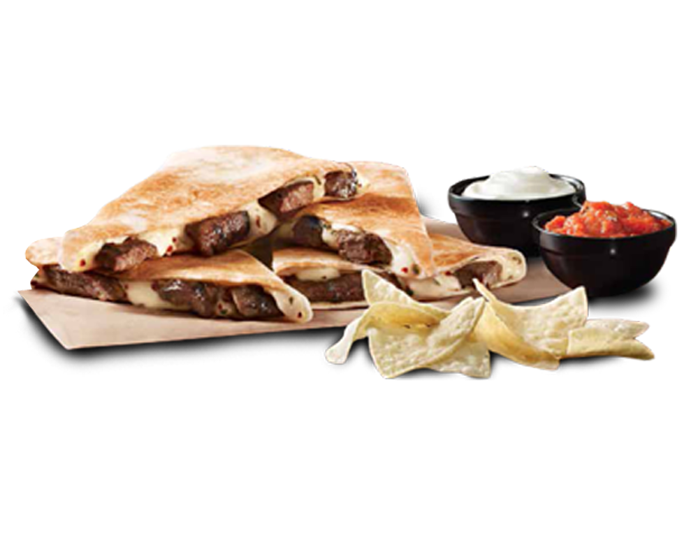 Taco bell quesadilla png. S new cantina double