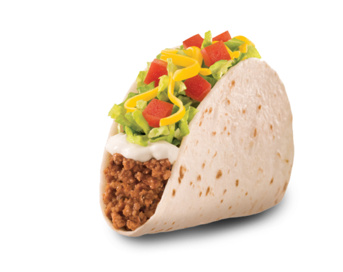 Taco bell soft taco png. The belletrist beef