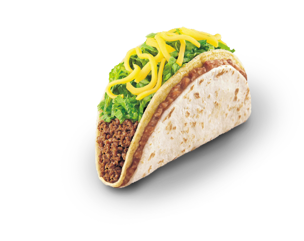 Taco bell soft taco png. South daily special for