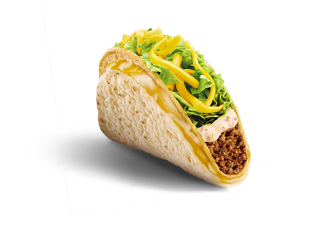 Taco bell soft taco png. The greatest items ever