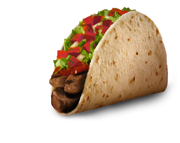 Taco bell soft taco png. Picks healthier than