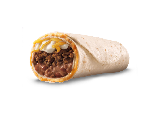Taco bell steak nachos box png. Beefy layer burrito the