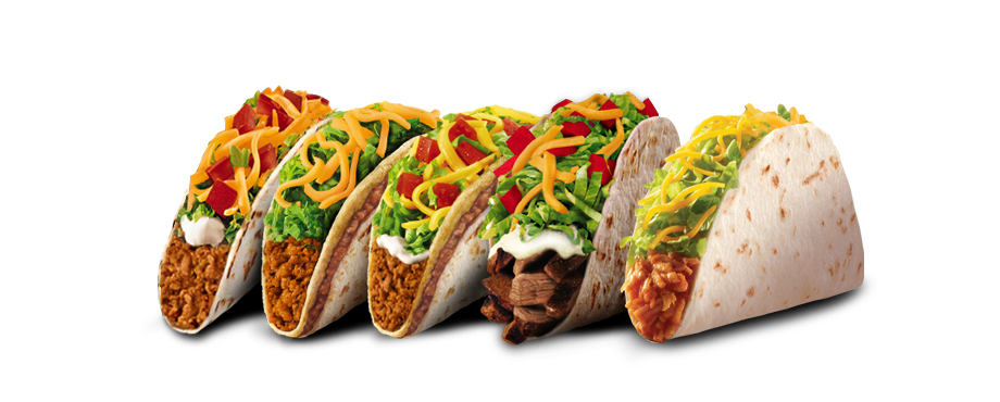 Taco bell taco png. Runs out of secret