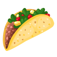 Cartoon tacos png. Download taco category clipart