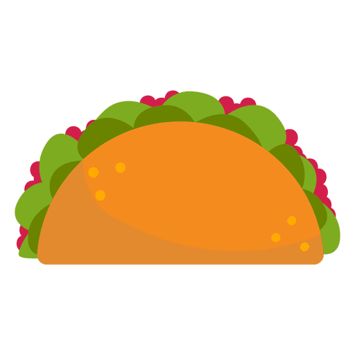 Taco cartoon png. Icon transparent svg vector