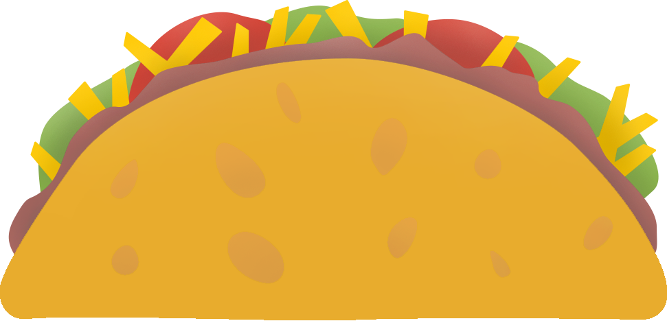 Taco clip animated. Burrito library download