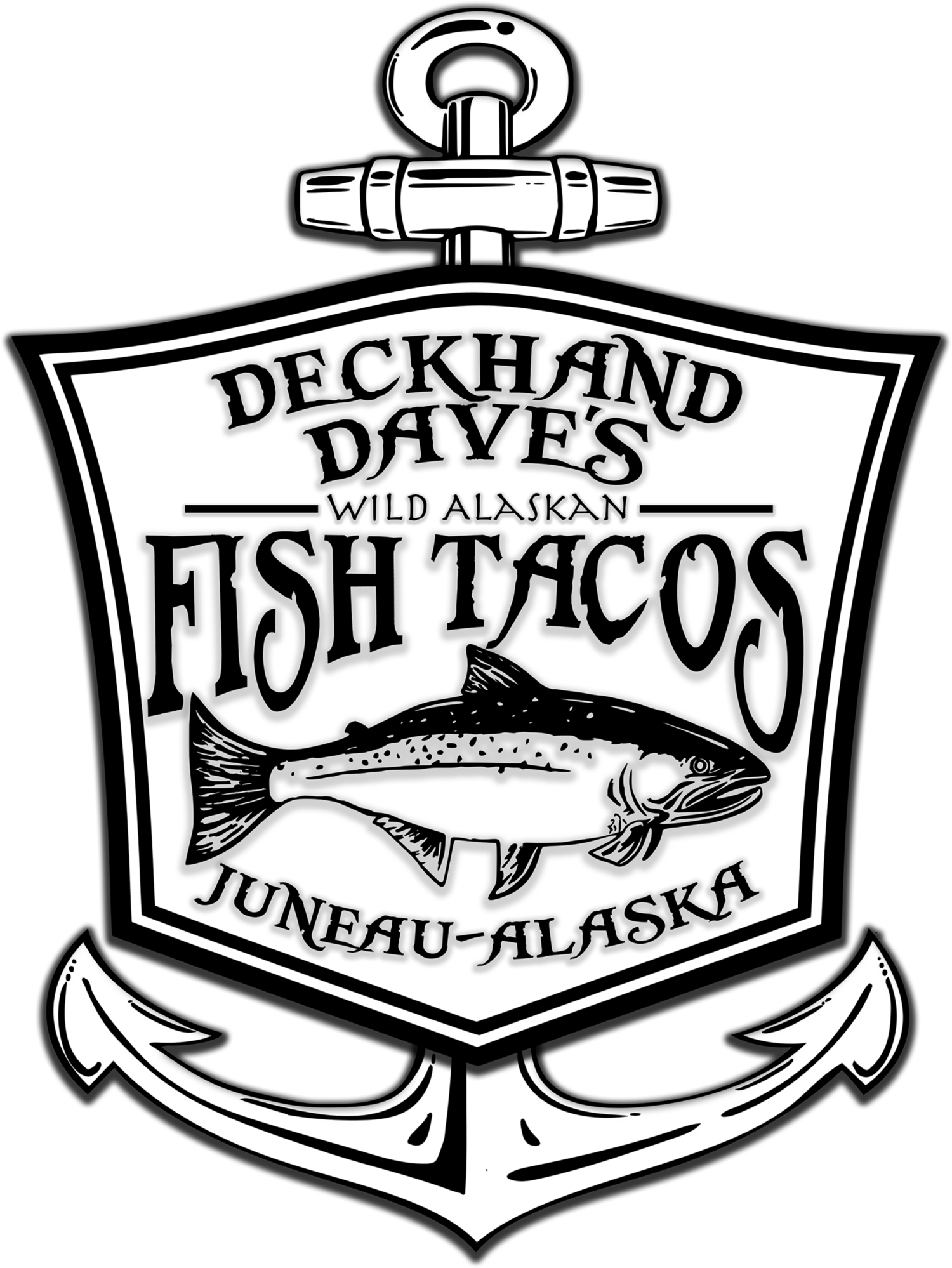Taco clip fish. Deckhand dave s