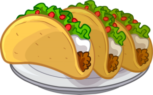 Taco ingredients clip art. Tacos clipart graphic freeuse library