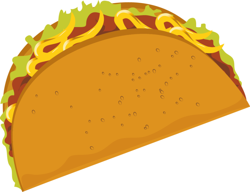 Taco clipartix . Tacos clipart illustration picture library download