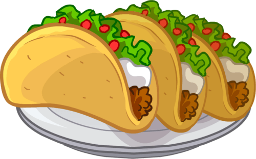 Taco clipart eating. Free funny cliparts download