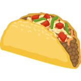 Taco emoji png. On facebook