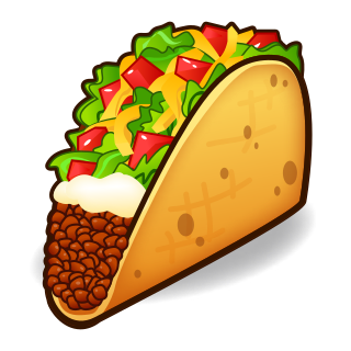 Taco emoji png. Emojidex custom service and