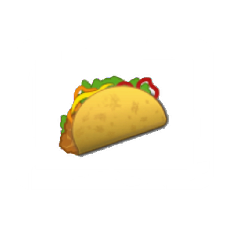 Taco emoji png clipart library library