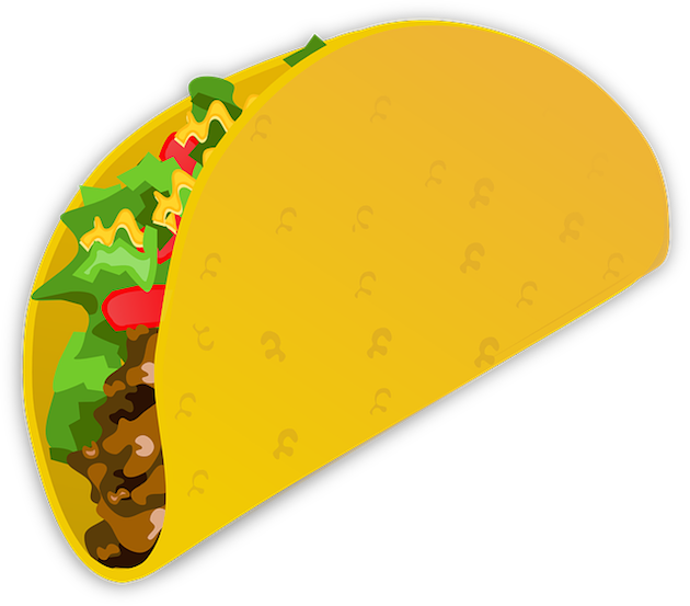 Taco emoji png. Yum your next favorite