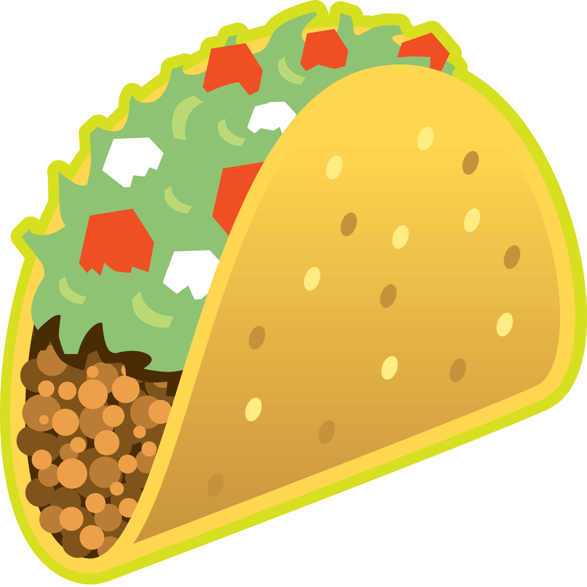 Taco emoji png. The best new has