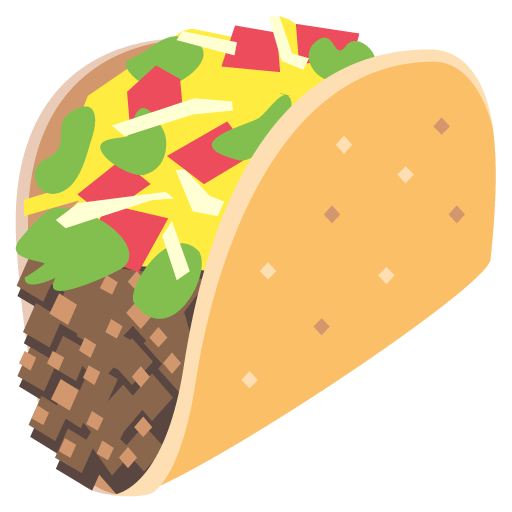 For facebook email sms. Taco emoji png png freeuse library