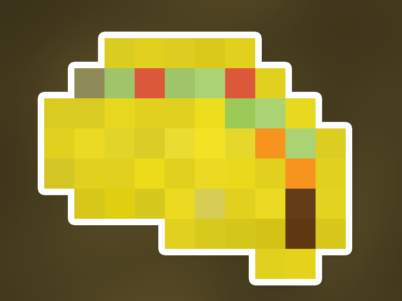 Taco png 8 bit. By todd resudek