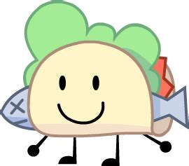 Taco Bfdi Transparent & PNG Clipart Free Download - YA-webdesign