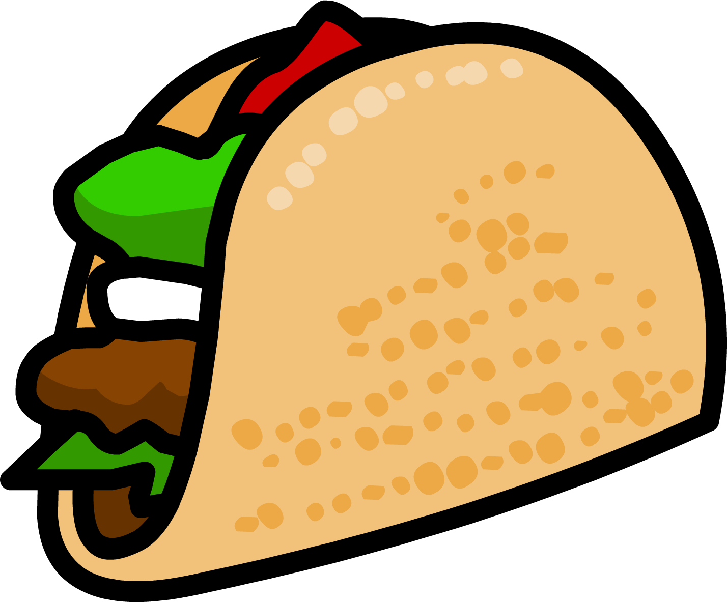 Tacos clipart file. Free taco pictures clipartix