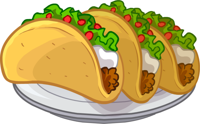 Tacos clipart transparent background. Food png pictures free