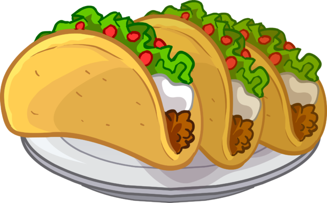Tacos icon png. Image club penguin wiki