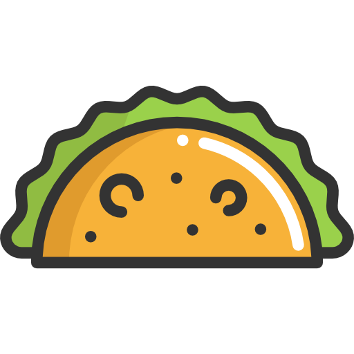 Tacos icon png. Taco free food icons