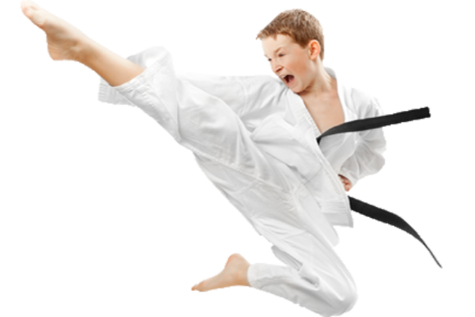 Taekwondo drawing kid. Tae kwon do ymca