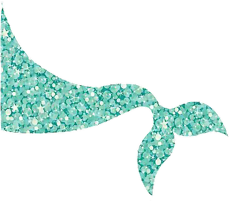 Tail clipart sparkly. Mermaid mermaidtail terquoise pastels