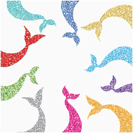 Tail clipart sparkly. Mermaid fresh glam clip