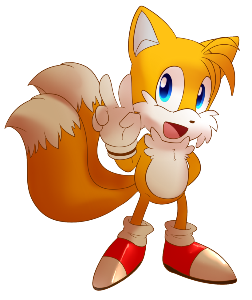 tails drawing