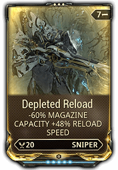 Tainted clip. Depleted reload warframe wiki
