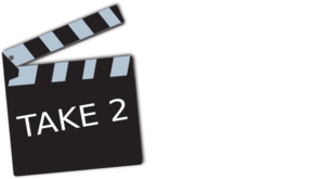 Take 2 png. Movie clip art at