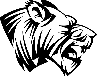 Drawing lions eye. Free vector cliparts download