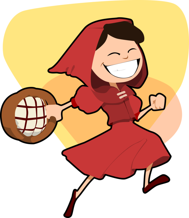 Wolf clipart red riding hood. Little fairy tale big