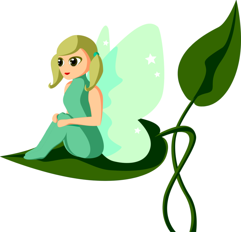 Tale clipart illustration. Fairy drawing silhouette pixie