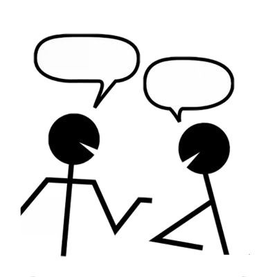 Talking clipart partner share. Talk within partners writings