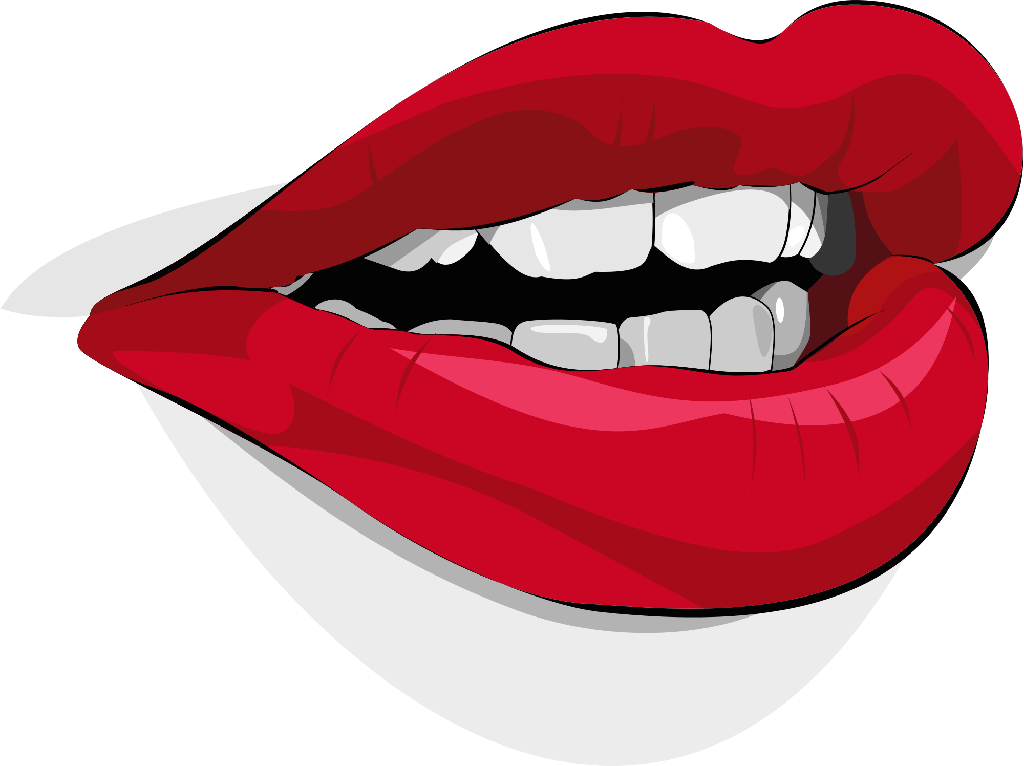 mouth svg talking