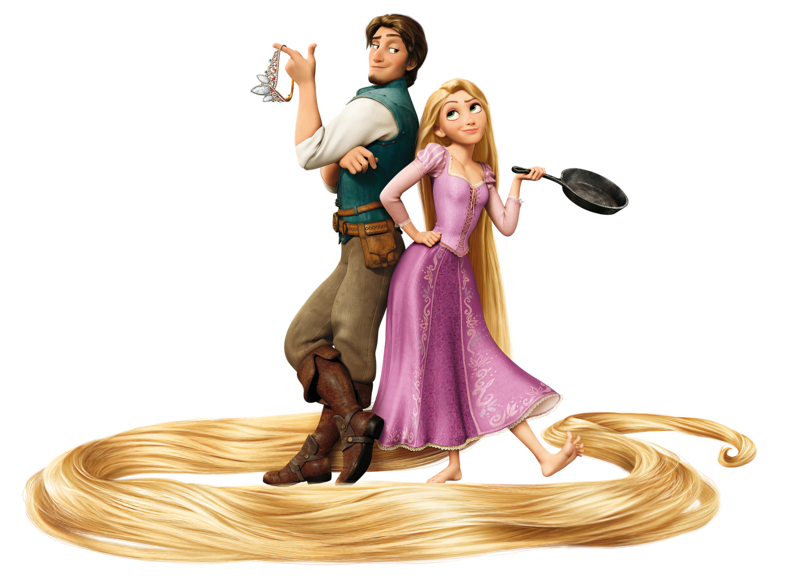 Character transparent tangled. Image flynn and rapunzel