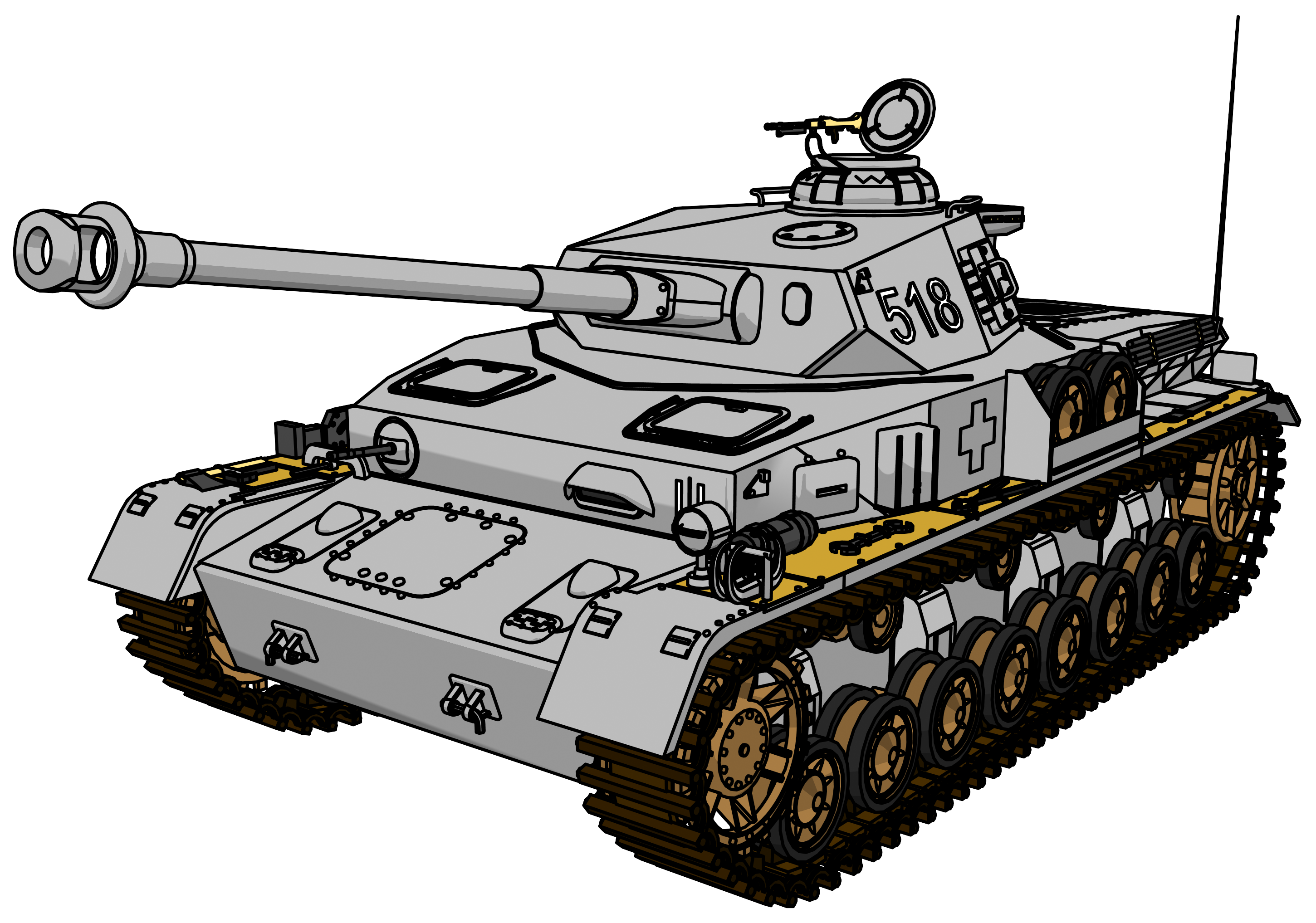 Tank clipart cartoon. Panzer png picture clipartly