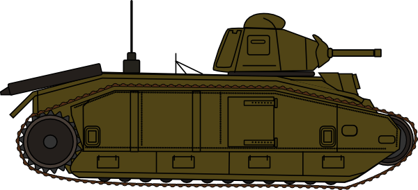 Tank clipart cartoon. Military