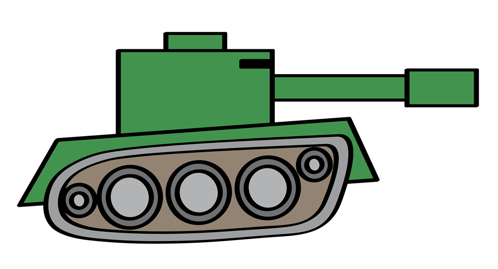 Tank clipart defence. Army panda free images