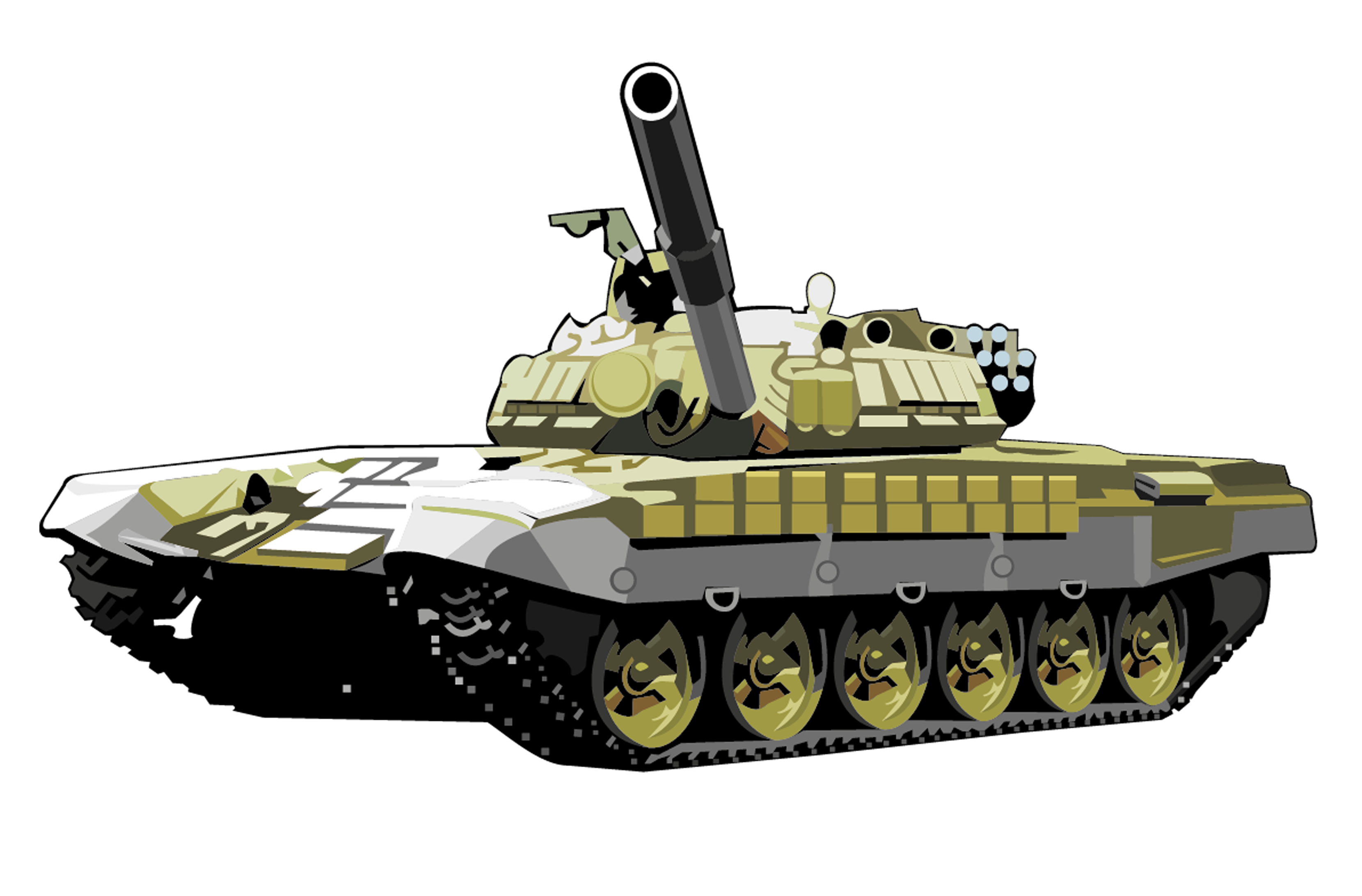 transparent tank armored