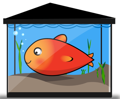 Tank clipart one. Fish