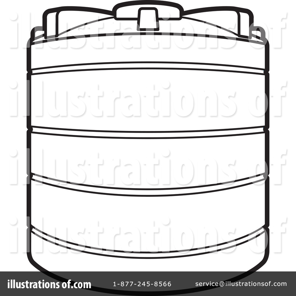Tank clipart tank outline. Clip art water