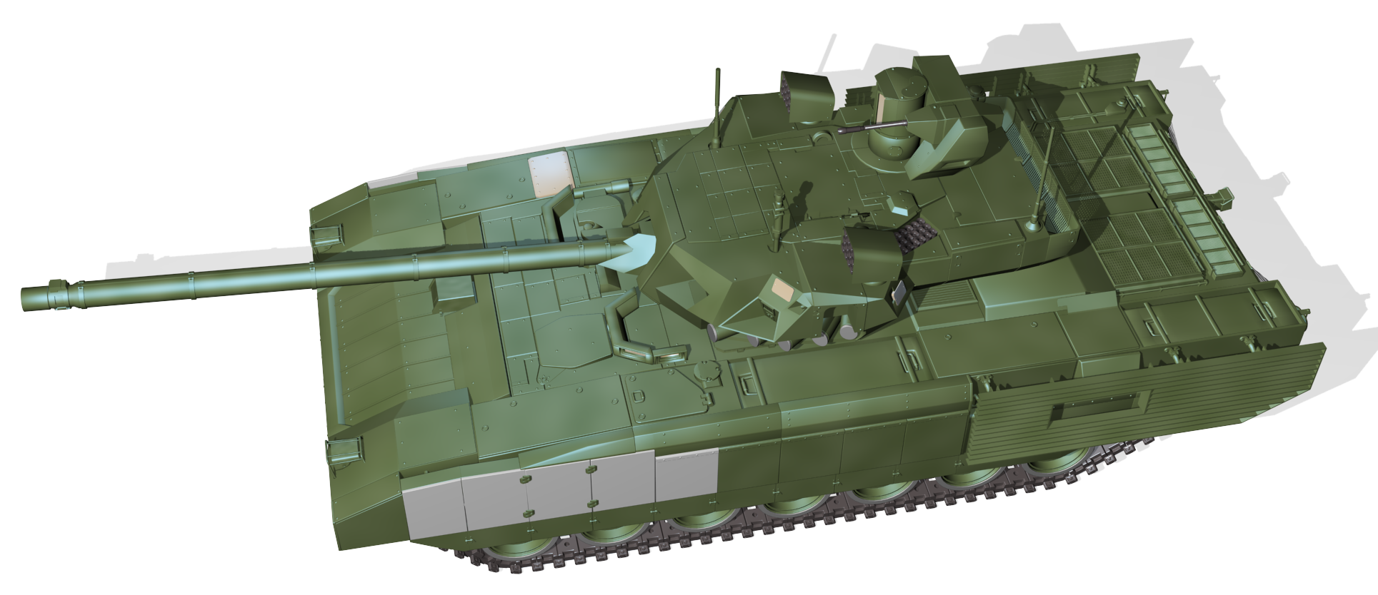 Tank clipart top view. T armata png clipartly